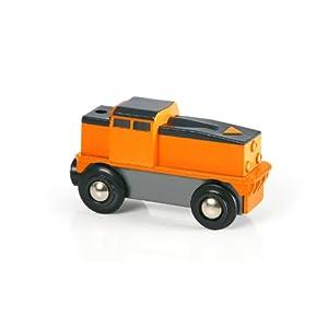 【クリックでお店のこの商品のページへ】BRIO バッテリーパワーカーゴトレイン 33215