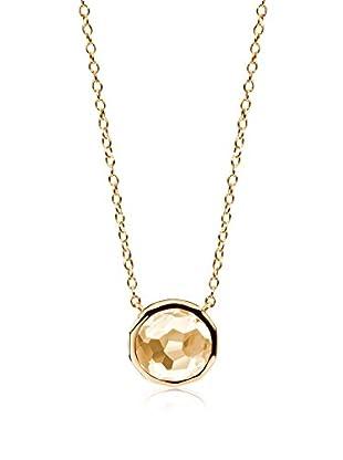 DI GIORGIO PARIS Halskette Mn26Ci vergoldetes Silber 18 Karat