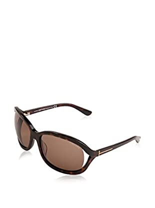 Tom Ford Sonnenbrille Vivienne (61 mm) havana