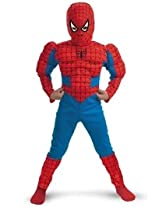 Madcaps The Party Shop Spiderman Costume - Kids Medium