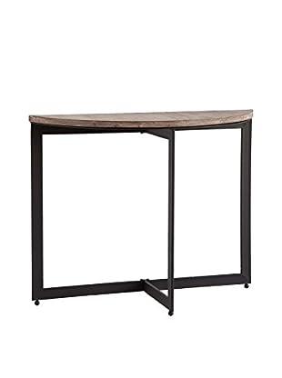 Mercana Jaynor II Table, Black/Wood Brown