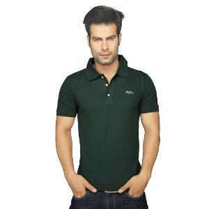 Men's Polo T-shirt By Clifton - Bottle Green