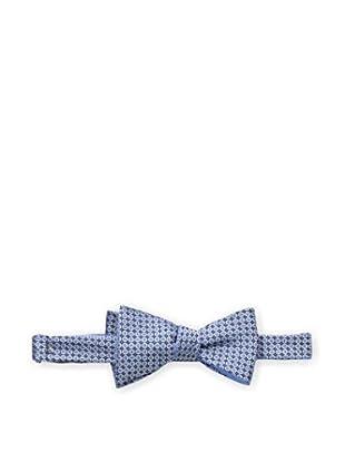 Bruno Piattelli Men's Dotted Bow Tie, Blue