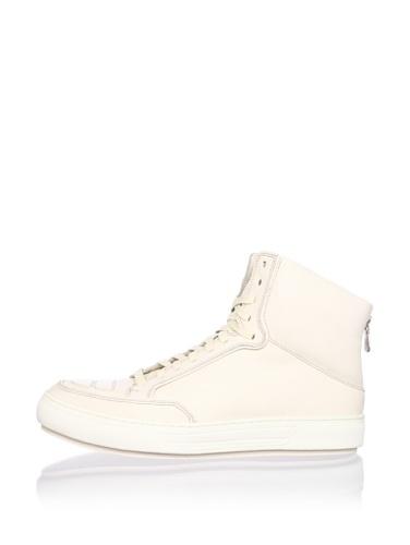 Alejandro Ingelmo Men's Jeddi Hi-Top Sneaker (Ivory/Ivory)