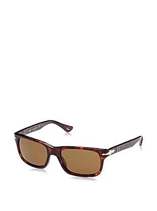 ZZ-Persol Gafas de Sol Polarized 0PO3048S 55 24/57 (55 mm) Havana