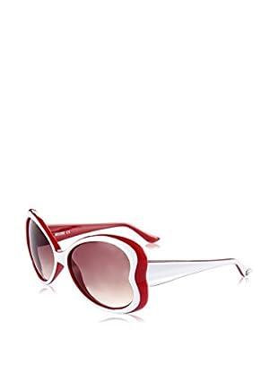 Moschino Sonnenbrille 59807-S (58 mm) weiß/rot