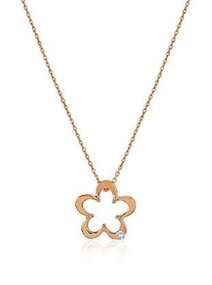 Divas Diamond Collar Diamond Gold Flower