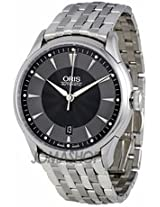 Oris Artelier Date Stainless Steel Automatic Mens Watch 733-7591-4054Mb