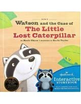 Hallmark Watson the Raccoon Book #3 Watson and the Case of The Little Lost Caterpillar~Interactive Storybook~WATSON sold separately