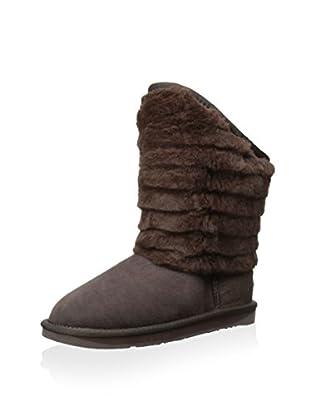 Australia Luxe Collective Womens Shogun Fur Trimmed Shearling Boot (Beva)