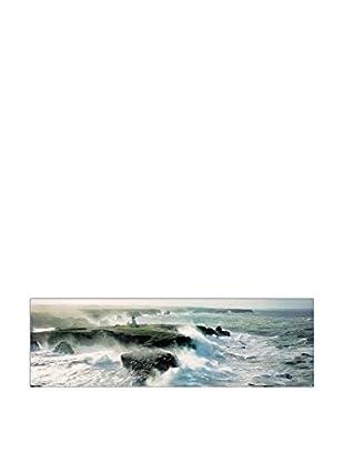 ARTOPWEB Wandbild Plisson Avis De Coup De Vent Sur Les Poulains 144x75 cm