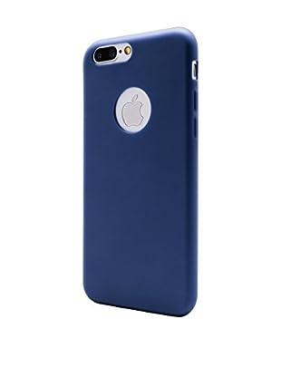 UNOTEC Hülle Second Skin iPhone 7 Plus blau