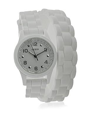 Guess Reloj de cuarzo Woman Blanco 25 mm