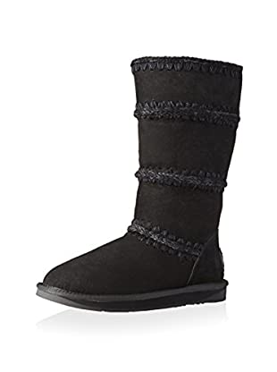 AUStralia Luxe Collective Womens Dukes Knitted Seam Boot (Black)
