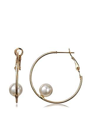 Jules Smith Floating Pearl Earrings