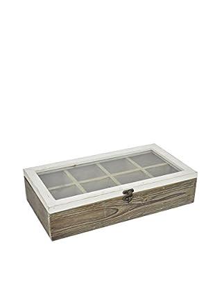 Three Hands Wide Wood Storage Box