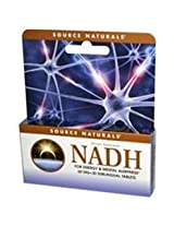Source Naturals, NADH, 20 mg, 30 Sublingual Tablets