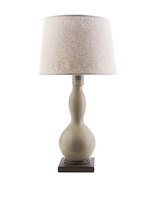 Surya Koa Outdoor Table Lamp, Taupe