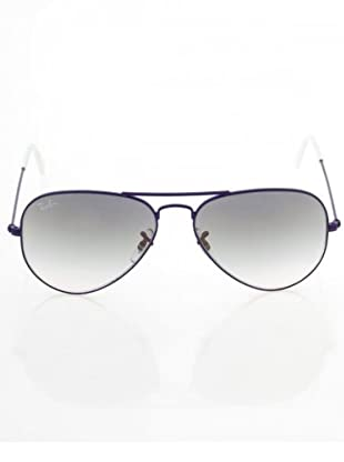 Ray Ban Sonnenbrille Aviator Large (Lila/Grau)