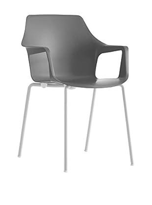 COLOS Stuhl 2er Set Vesper 2 grau/weiß