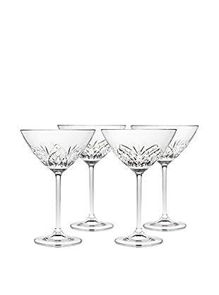 Godinger Set Of Four Dublin Reserve Martini Glasses