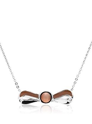 Misaki Collar Ribbon plata de ley 925 milésimas rodiada