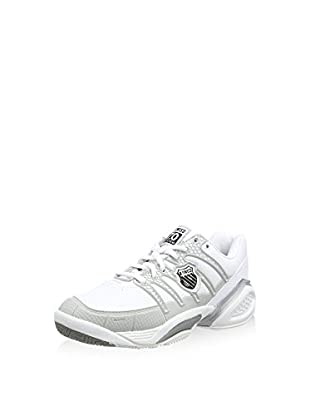 K-Swiss Performance Zapatillas KS TFW DEFIER DS-WHT/LTGRY/RSPBRRYRSE