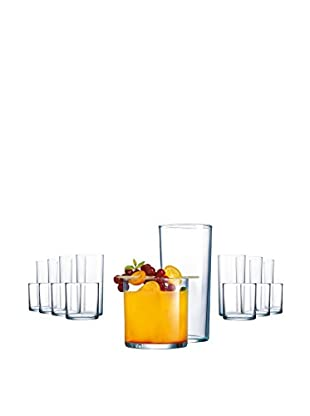 Arc International 16-Piece Rika Tumbler Set