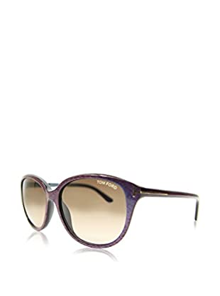 Tom Ford Gafas de Sol FT-KARMEN 0329S-83F (57 mm) Lila / Marrón