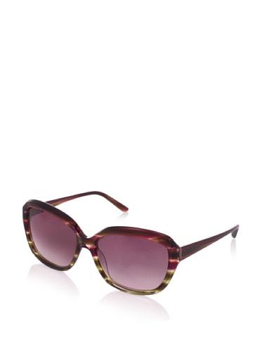Theory Women's TH2131 Sunglasses, Purple-Green