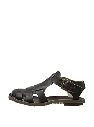 Fly London Sandalias Bow Gladiator (Negro)