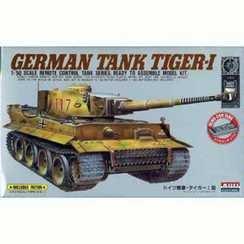 1/50 リモコンタンクシリーズ タイガー1型