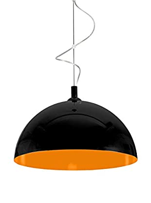 SEGNO Lámpara De Suspensión Led Moon Black Orange Negro/Naranja