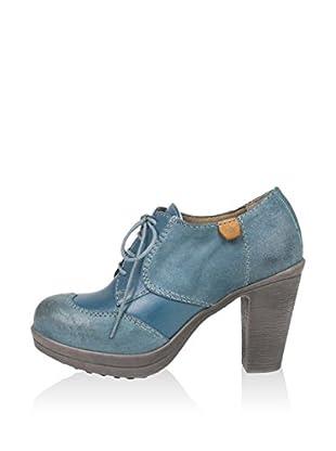 Cubanas Zapatos abotinados