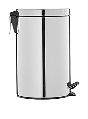 Organize It All Stainless 12.5-Qt. Step-On Trash Can