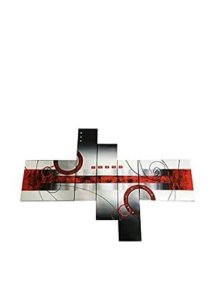 Arte Dal Mondo Leinwandbild 5er Set Edgar Ramirez Astratto