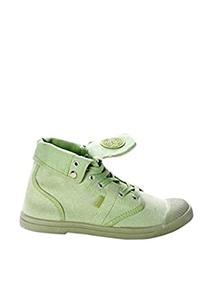 Destroy Zapatillas Abotinadas Casual (Verde)