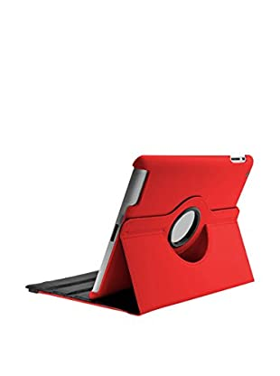 UNOTEC Funda Rotation iPad 2 / 3 / 4 Rojo