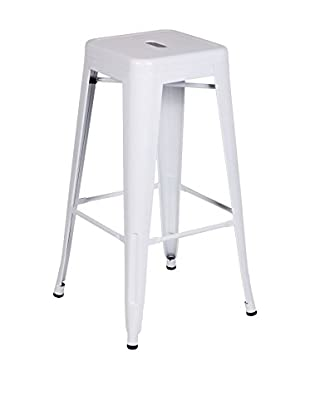 LO+DEMODA Barhocker 2er Set Hight Ural 76 Blanco