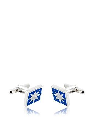 Olimpo Gemelos Cuadrados de Paladio Azul