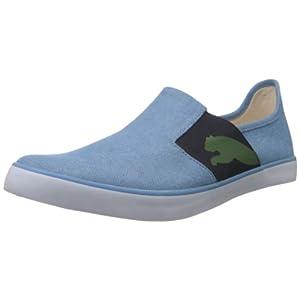 Puma Men's Lazy Slip On Blue Canvas Sneakers - 11 UK /India(46EU)