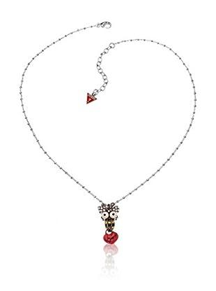 Guess Halskette Ubn12020 silberfarben
