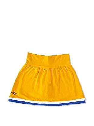 Naffta Falda Short Niña (Amarillo / Azul)