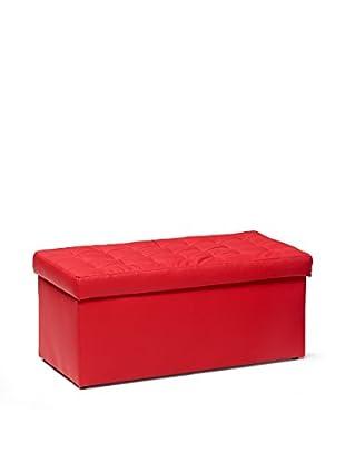 13 Casa Hocker mit Stauraum Toy Big rot 90x45x45h