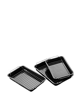 Premier Housewares Bräter 3er Set schwarz