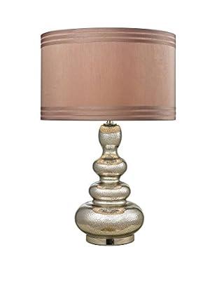 Artistic Lighting Table Lamp, Antique Mercury