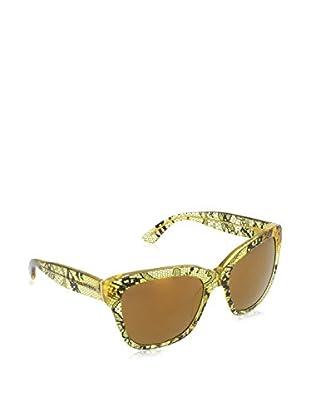 Dolce & Gabbana Sonnenbrille 4226 (56 mm) gelb/schwarz