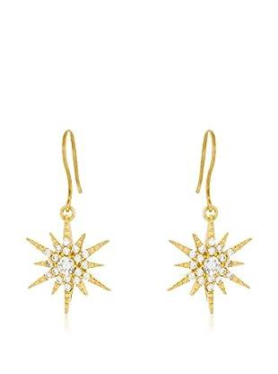 ALBA CAPRI Ohrringe Stella vergoldetes Silber 925