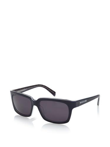 Jil Sander Women's Oversized Square Sunglasses, Blue Tweed