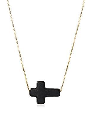 David Aubrey Tiny Cross Pendant Necklace